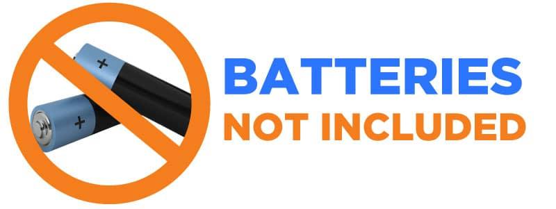 BATTERIES-NOT