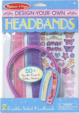 Melissa & Doug - Created-by-Me!-Headbands-Design-and-Decorate-Craft-Kit