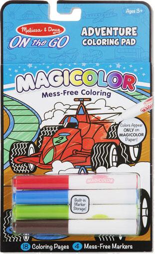 MELISSA & DOUG - Magicolor - On the Go - Games & Adventure Coloring Pad