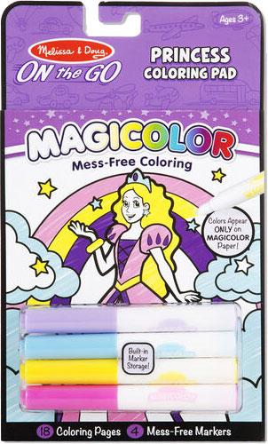 MELISSA & DOUG - Magicolor - On the Go - Princess Coloring Pad
