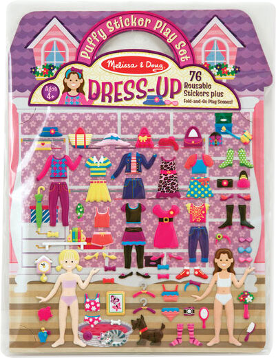 MELISSA & DOUG - Puffy Sticker Play Set Dress