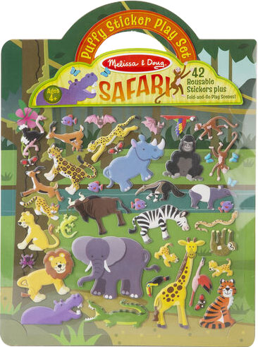 MELISSA & DOUG - Puffy Sticker Play Set - Safari