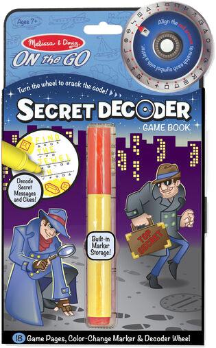 MELISSA & DOUG - Secret Decoder Book