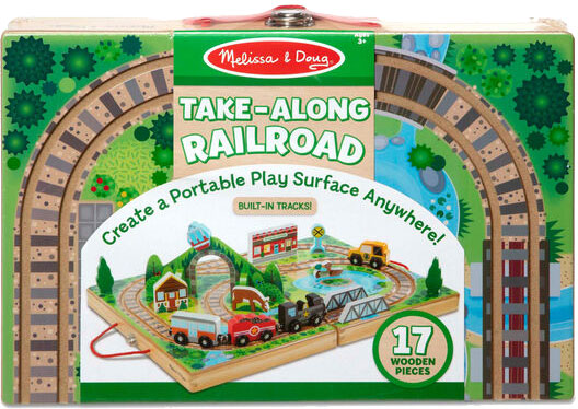 MELISSA & DOUG - Take-Along Railroad