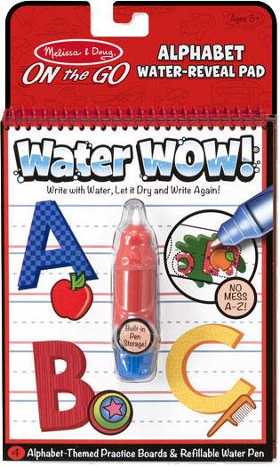 MELISSA & DOUG - Water Wow! Alphabet - On the Go Travel Activity