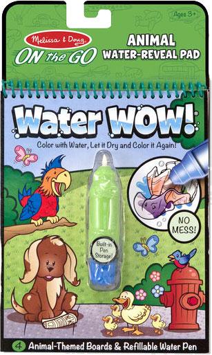 MELISSA & DOUG - Water Wow! Animals - On the Go Travel Activity