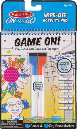 MELISSA & DOUG - Write On Reusable Games
