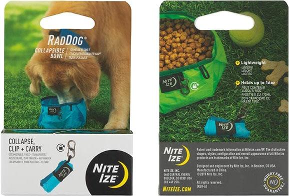 NITE IZE - RadDog Collapsible Bowl - Blue