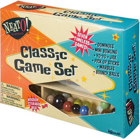 Classic Game Set NEATO!