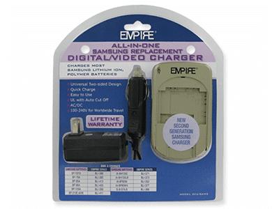 Empire DVU-SAM2 Samsung Video and Digital Camera Battery Charger