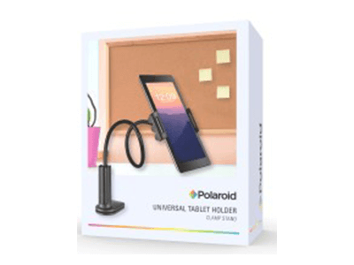 Polaroid Gooseneck Mount with Tablet Holder