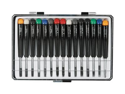 Velleman VTSET15: Precision Screwdriver Tool Set - 15 Pieces