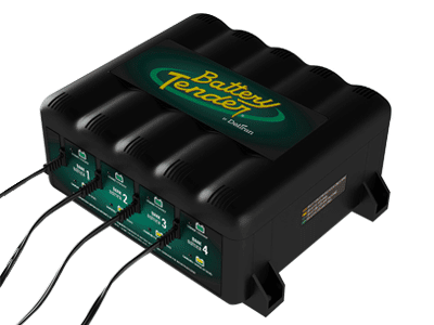 Battery Tender 12v 1.25 Amp 4 Bank Battery Charger and Maintainer