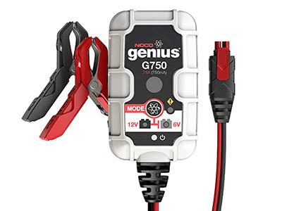 NOCO Genius 6v 12v 750 mA Smart Battery Charger G750