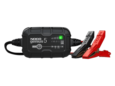 NOCO Genius5, 5-Amp Battery Charger, Battery Maintainer, and Battery Desulfator0
