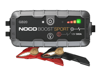 NOCO Boost Sport 400A 12V Ultrasafe Lithium Jump Starter - GB20