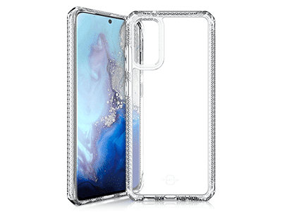 ITSKINS - Hybrid Clear Case for Samsung Galaxy S20 - Transparent