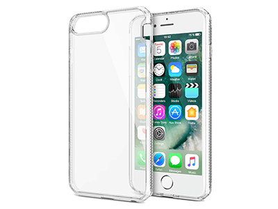 ITSKINS - Hybrid Frost MKII Case: iPhone 8+,7+,6s+, 6+ - Transparent