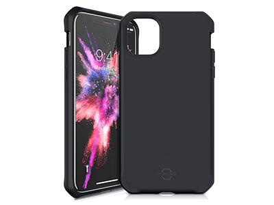 ITSKINS - Hybrid Silk Case for Apple iPhone 11 Pro - Black