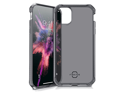 ITSKINS - Spectrum Clear Case for Apple iPhone 11 - Black