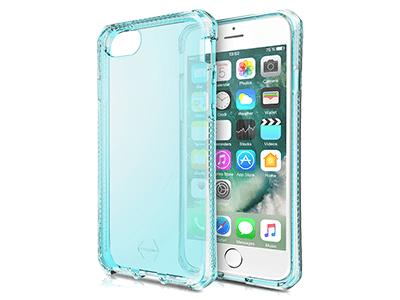 ITSKINS - Spectrum Clear Case for Apple iPhone SE,8,7,6s,6 - Light Blue