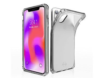 ITSKINS - Spectrum Clear Case for Apple iPhone XR - Transparent