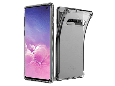 ITSKINS - Spectrum Clear Case for Samsung Galaxy S10 - Black