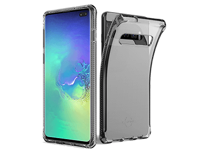 ITSKINS - Spectrum Clear Case for Samsung Galaxy S10 Plus - Black