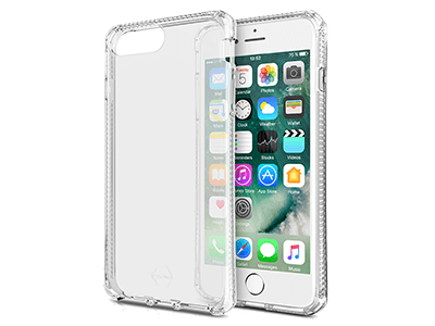 ITSKINS - Spectrum Clear Case for iPhone 8+,7+, 6s+, 6+ - Transparent