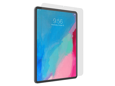 ZAGG - InvisibleShield Glass Plus Glass Screen Protector for Apple iPad Pro 11 - Clear