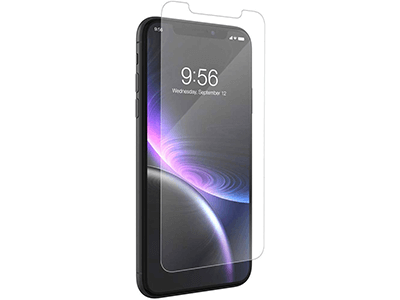 ZAGG - InvisibleShield Glass Plus Glass Screen Protector for Apple iPhone 11,XR - Clear