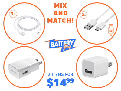 Mix-And-Match - 2 Items for $14.99