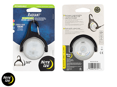 Nite Ize RADIANT RECHARGEABLE MICRO LANTERN - DISC-O SELECT