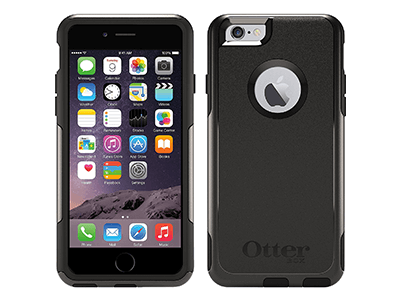 OtterBox - Commuter Case for Apple iPhone 6s / 6 - Black