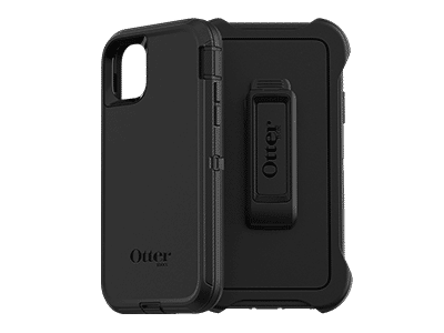 OtterBox - Defender Case for Apple iPhone 11 - Black
