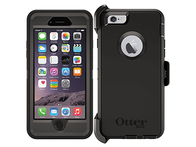 OtterBox - Defender Case for Apple iPhone 6s / 6 - Black
