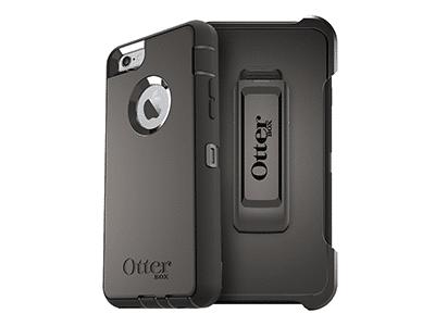 OtterBox - Defender Case for Apple iPhone 6s Plus / 6 Plus - Black