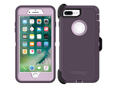 OtterBox - Defender Case for Apple iPhone 8 Plus / 7 Plus - Purple Nebula