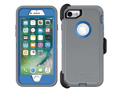 OtterBox - Defender Case for Apple iPhone SE / 8 / 7 - Marathoner