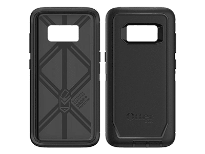OtterBox - Defender Case for Samsung Galaxy S8 - Black