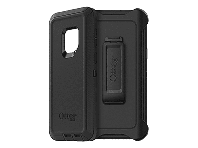 OtterBox - Defender Case for Samsung Galaxy S9 - Black