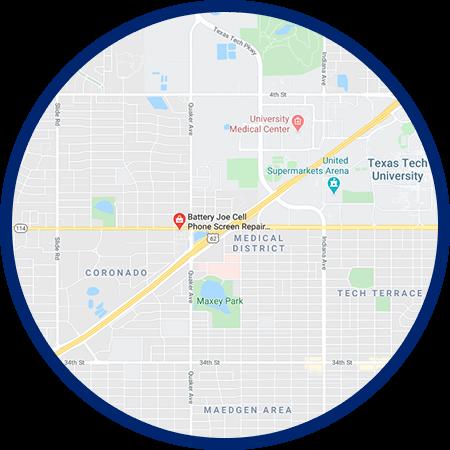 Battery Joe Store - Lubbock, Texas, 19th Street