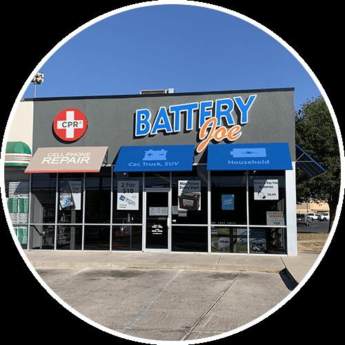 Battery Joe West Loop 250 Location