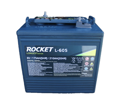 Rocket 6 Volt Golf Cart Battery