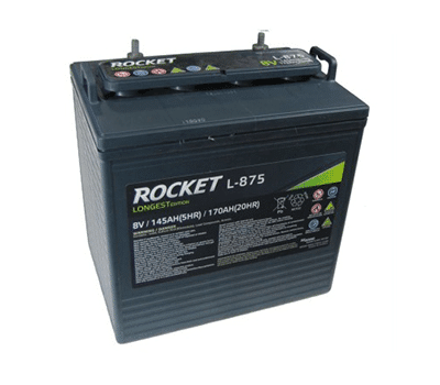 Rocket 8 Volt Golf Cart Battery