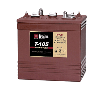 Trojan 6 Volt Golf Cart Battery