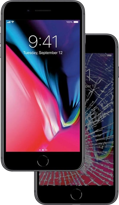 iphone 6, 7, and 8 all series screen repair