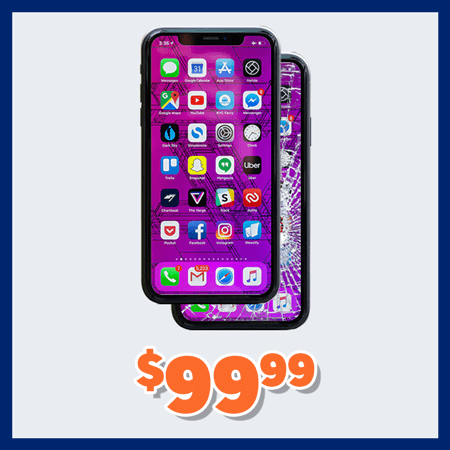 iPhone X and XR Screen Repairs for $99.99