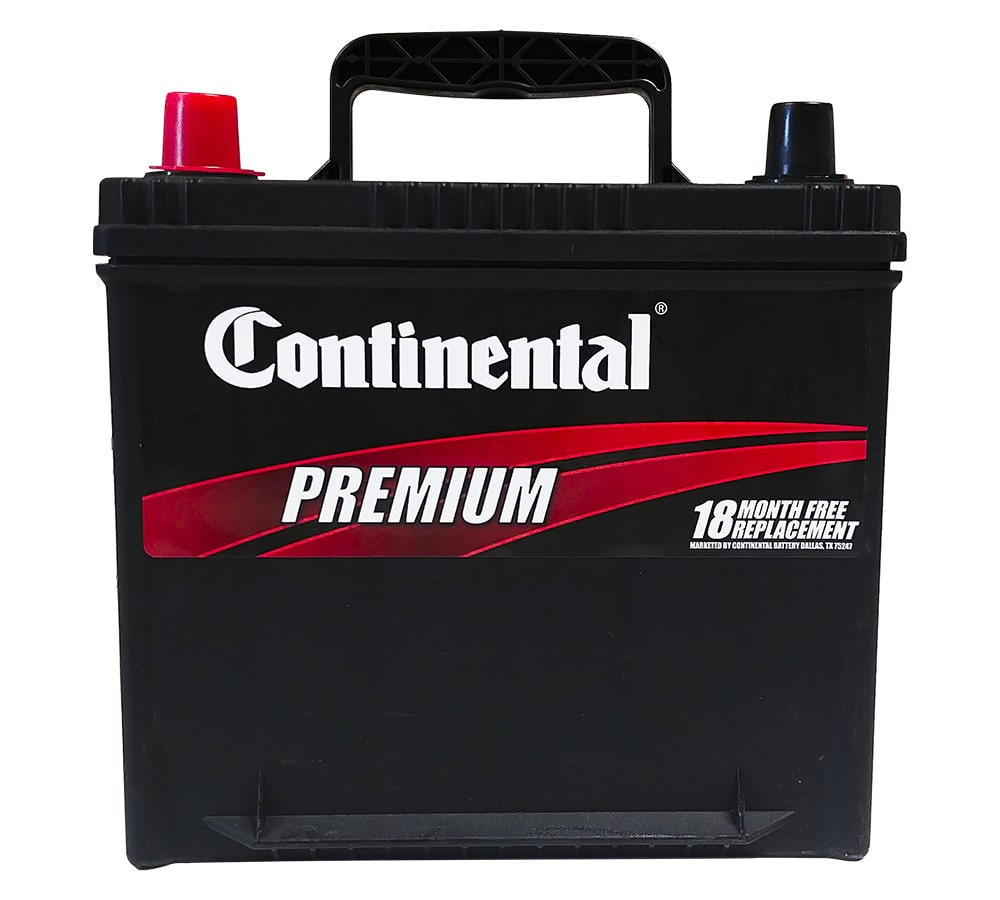 18 Month Continental Car Battery