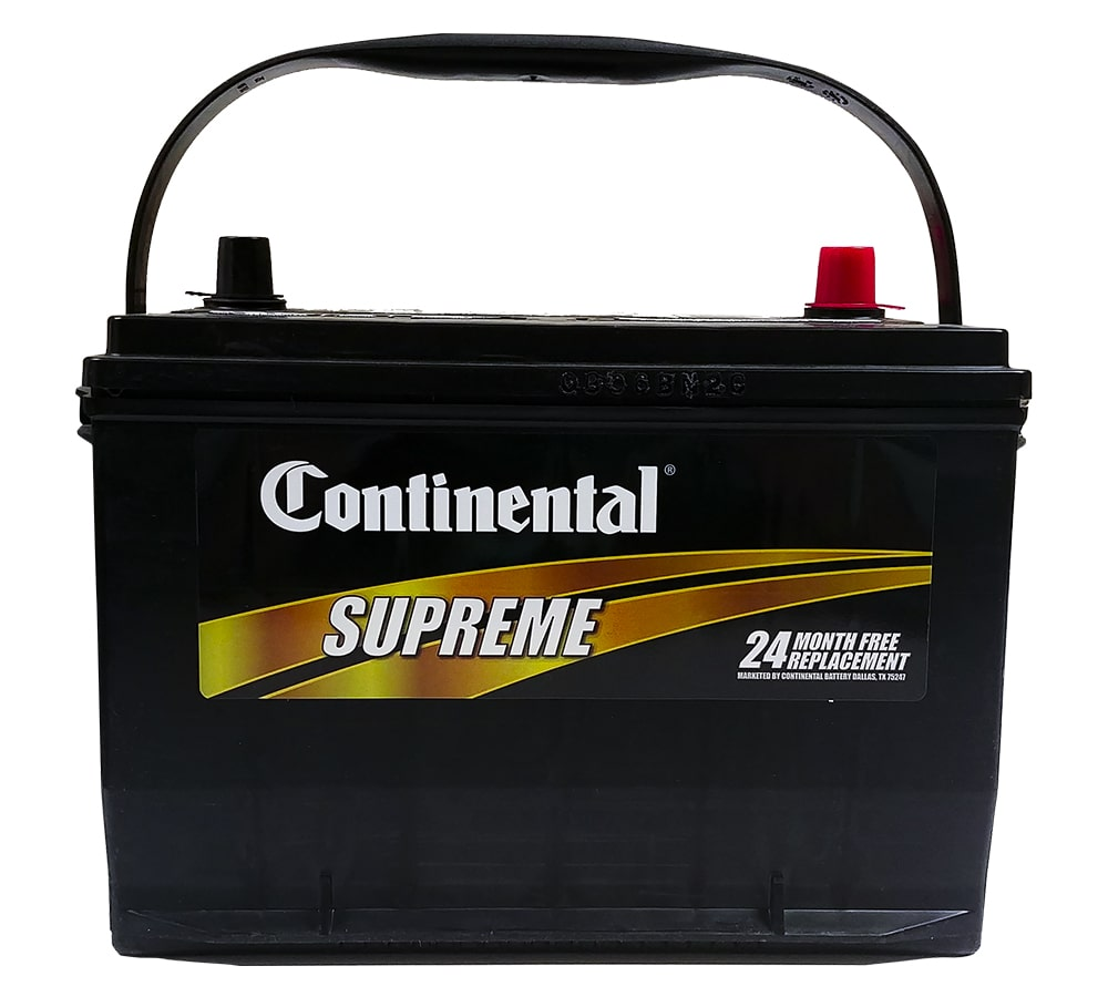 24 Month Continental Car Battery